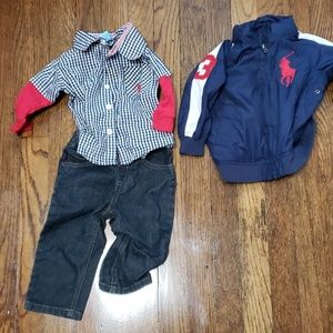 12M US Polo Outfit!